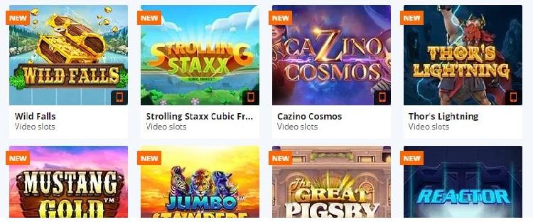 betsson カジノゲーム