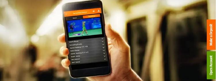 betssonスポーツベッティング モバイルアプリ