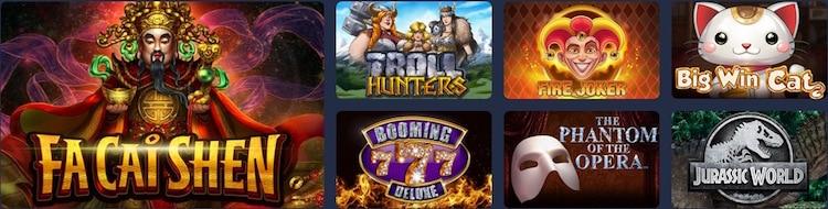ハッピースター - カジノゲーム