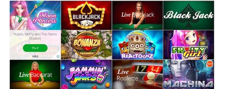 casino-x-ゲーム