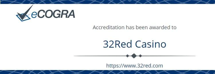 32Red - 公式ライセンスとセキュリティ技術