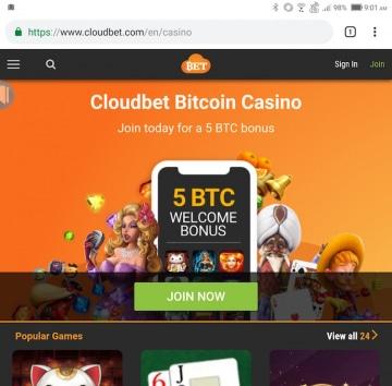 cloudbet-カジノアプリ
