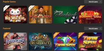 cloudbet-カジノゲーム