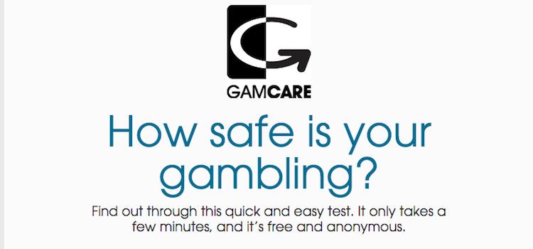 ピナクルスポーツ - gamcare自己診断ツール