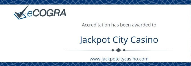 Jackpotcity - セキュリティ