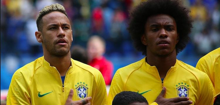 ブラジル-サッカー-優勝候補