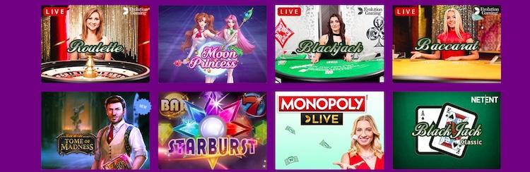 ラッキーカジノ-ゲーム
