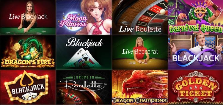 ジョイカジノ - ゲーム