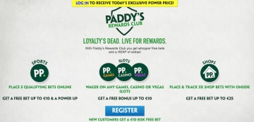Paddy Power-リワード