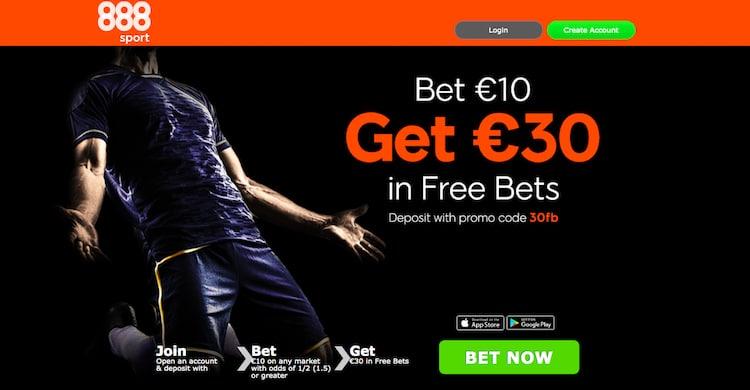 888sport-フリーベット-€30
