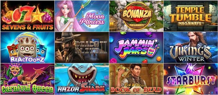 カジノエックス - ゲーム