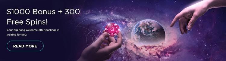 Genesis Casino - ウェルカムボーナス