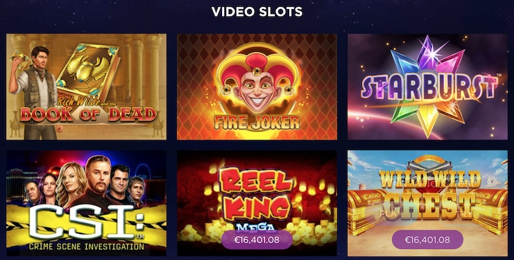 Genesis Casino - ゲーム