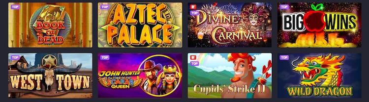 joo-casino-ゲームの種類