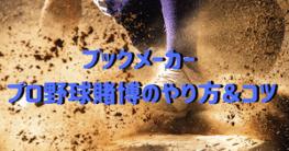 ブックメーカー-プロ野球-ロゴ