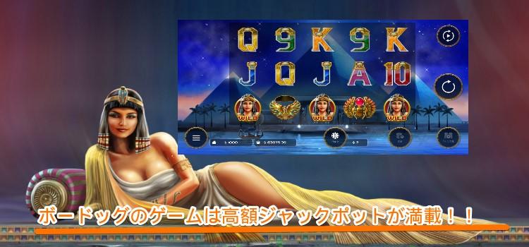 ボードッグ-カジノゲーム