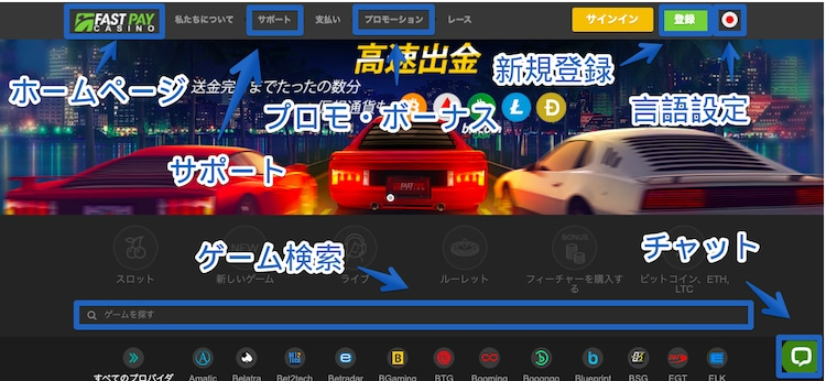 Fastpay-サイトレビュー