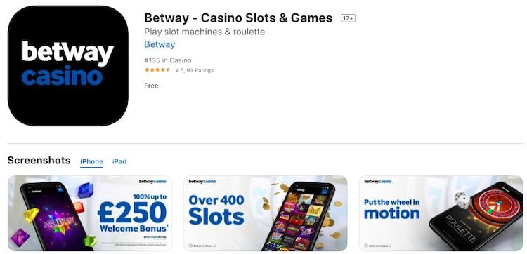 Betway-アプリ