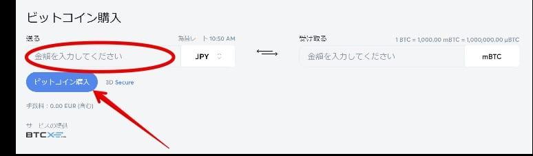 ビットカジノ - 入金ガイド4