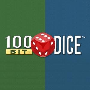 100bit dice - ロゴ
