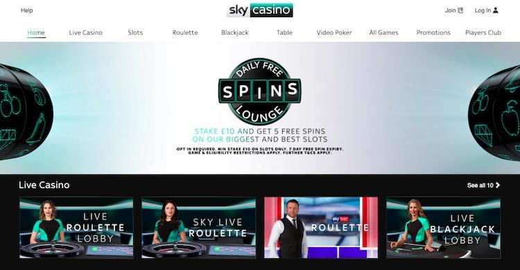 Sky Casino-カジノ