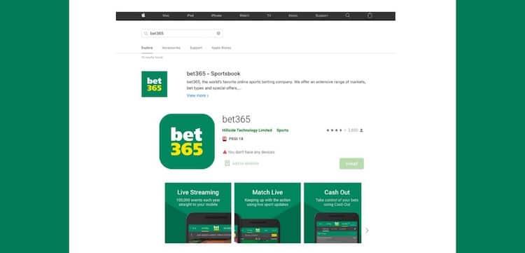 bet365-アプリ