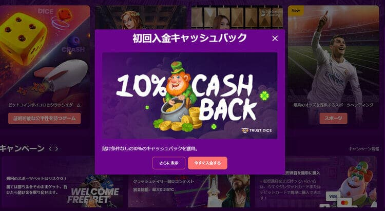 Trustdiceカジノ-登録ステップ4