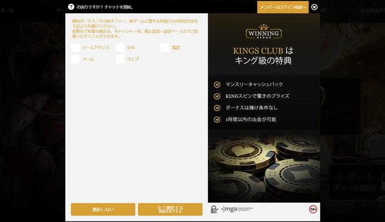 WinningKingsカジノ-登録方法5