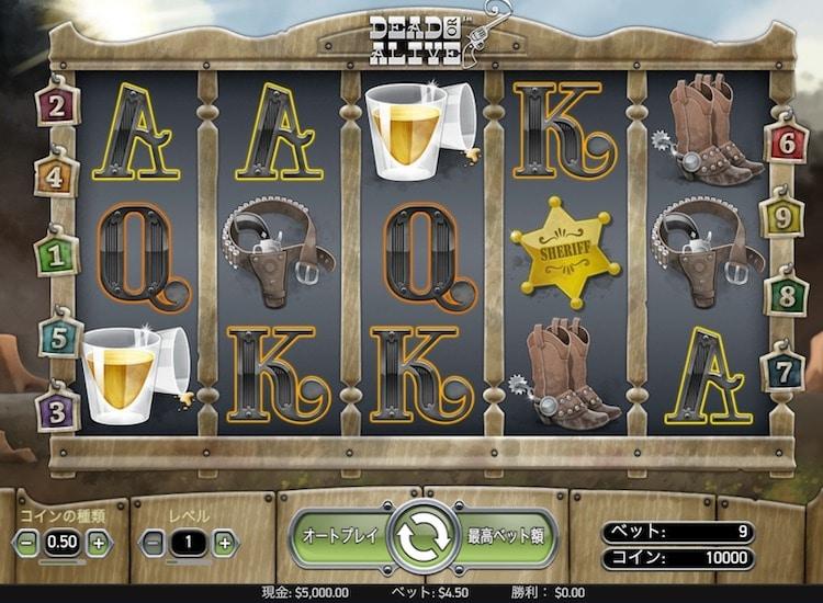 ビデオスロット-オンラインカジノ