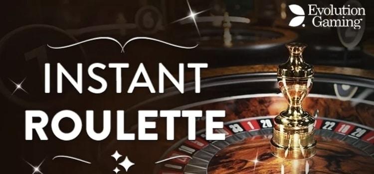 ライブカジノ - インスタントルーレット